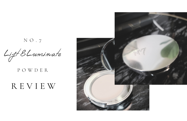 NO. 7 Lift & Luminate Powder Review