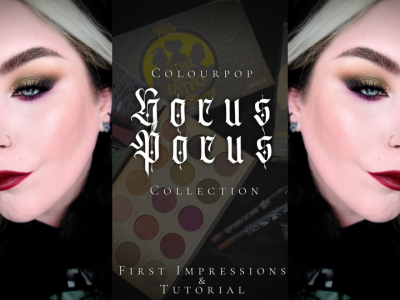 Colourpop Hocus Pocus Collection First Impressions & Tutorial