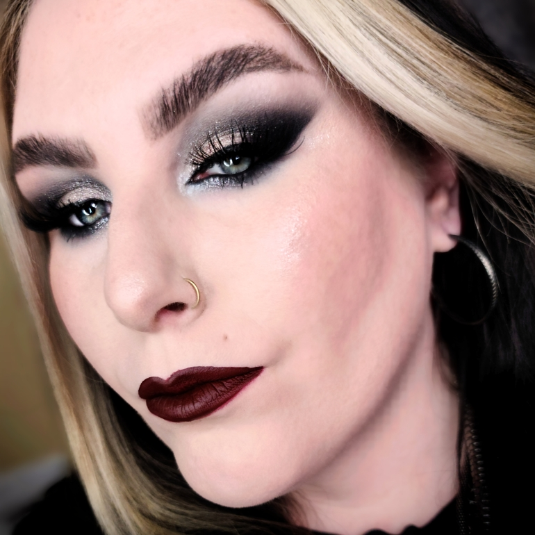 New Year's Eve Glam Collab using Melt x Beetlejuice The Waiting Room Palette