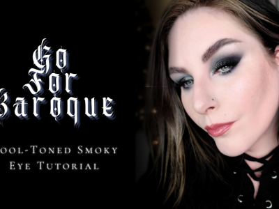 Cool toned smoky eye makeup tutorial