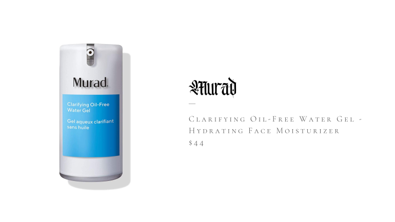 Murad Clarifying Oil Free Water Gel - Hydrating Face Moisturize