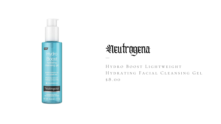 Neutrogena Hydro Boost Lightweight Hydrating Facial Cleansing Gel