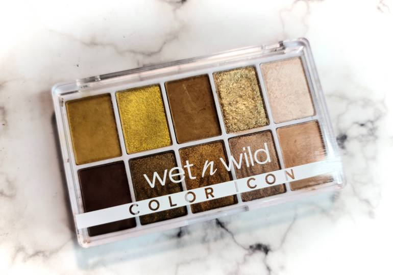 Wet N WIld Color Icon 10-Pan Palette in Call me Sunshine