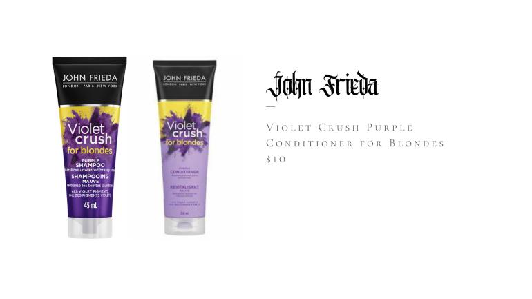 John Frieda Violet Crush Shampoo for Brassy Blonde Hair