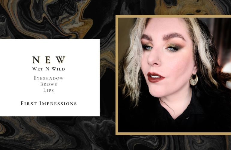 Testing New Wet n Wild Eyeshadows and Brow Products