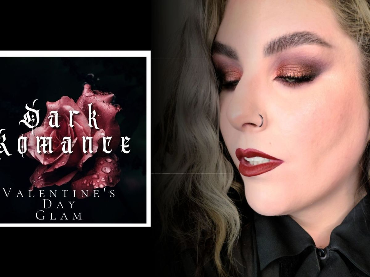 Dark Romance   Valentine's Makeup Tutorial feat Melt Waiting Room Palette & She's in Parties.