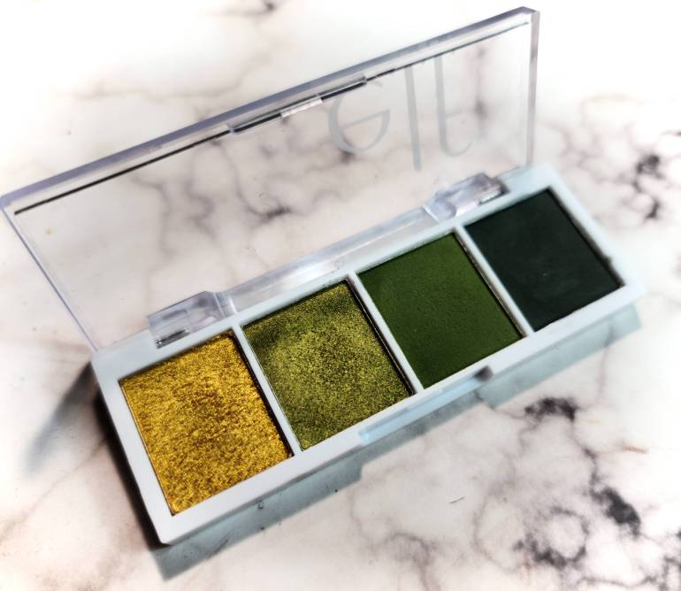 elf bite sized eyeshadow palette in Hot Jalapeno