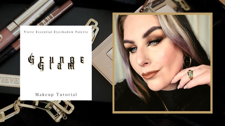 Just Another Grungy Glam Makeup Tutorial Using Vieve.